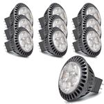 10x LG LED Leuchtmittel GU5,3 MR16 warmweiss 4W M0427U35N5B