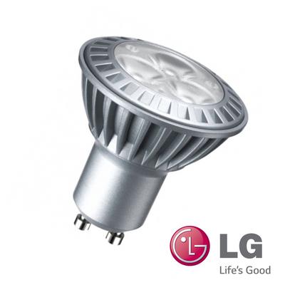 1x LG LED GU10 3,5W Leuchtmittel 230V Power LEDs Warm Weiß