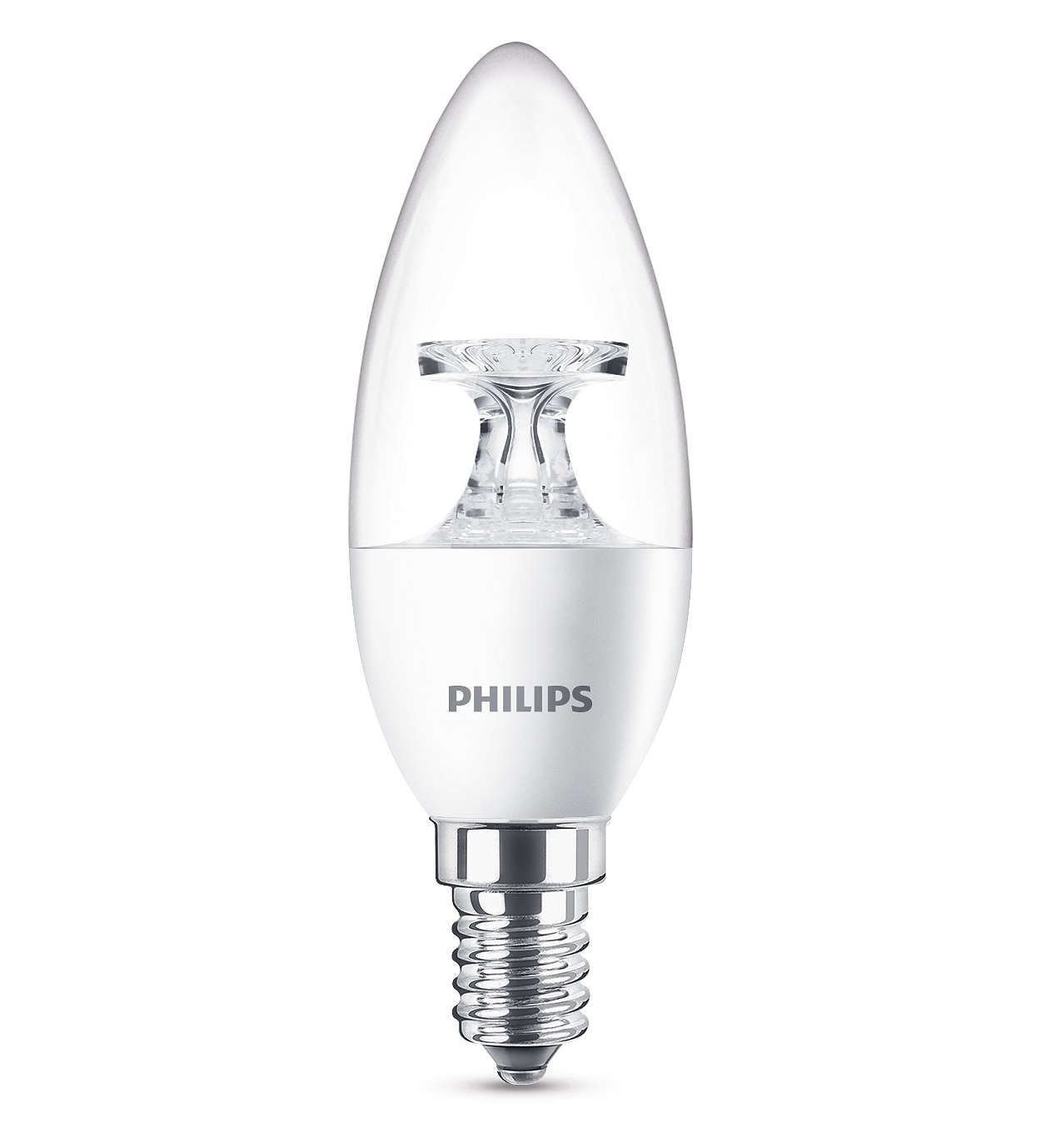 8718696454770 Philips LED Leuchtmittel E14 LED Kerze 5,5W ~ 40W
