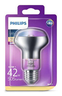 Philips Reflektor 8718696714485 mit Drehsockel 4,5 W (42 W), E27, warmweiß