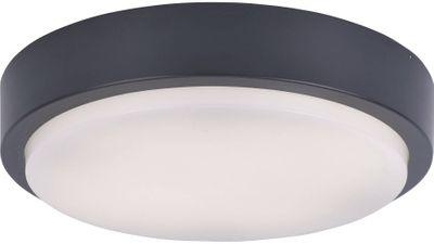 9650 Paul Neuhaus LED-Deckenleuchte Q-LENNY anthrazit 1200Lm dimmbar IP65 RGB 3000K