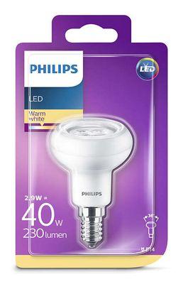 Philips 8718696578452 Reflektor mit Drehsockel, 2,9 W (40 W), E14, warmweiß, nicht dimmbar, Reflektor