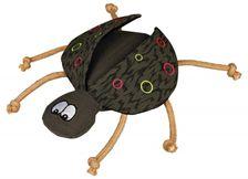 Käfer Pünktchen, Stoff-Spielzeug