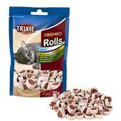 Premio Rolls, Katzen-Snack mit Hühnchen und Seelachs