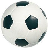 Latex-Fussball gefüllt 9 cm, Hunde-Spielzeug, Latex-Spielzeug