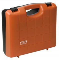 Bahco Kunststoffkoffer leer PTB103390 PP orange schwarz 395x365x140 mm mit Schaumstoffeinlage Bild 2
