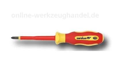 CAROLUS GEDORE VDE Schraubendreher PZ 1 3686.01