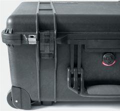 Schutzkoffer rollbar 560x455x265mm Schaumstoffeinlage PELI wasserdicht ausziehb.Griff Bild 3