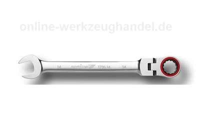 CAROLUS GEDORE Maul-Gelenk-Ringratschenschlüssel 16 mm, Schwenkkopf 1720.16