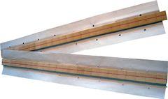 Keramische Badsicherung auf Aluminiumklebeband rund D.12,7mm, L.600mm 25,4x12,7mm