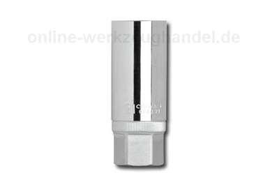 """CAROLUS GEDORE Zündkerzeneinsatz 3/8"""" mit Magnet 6080.18"""
