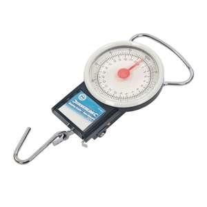 Silverline Hängewaage mit Maßband 22 kg