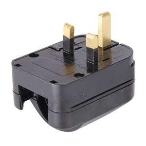 Silverline Eurostecker-Adapter für britische Steckdosen CEE 7/4, CEE 7/7