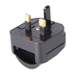 Silverline Eurostecker-Adapter für britische Steckdosen CEE 7/17