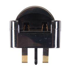 Silverline Eurostecker-Adapter für britische Steckdosen CEE 7/17 Bild 2