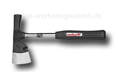 CAROLUS GEDORE Gipserbeil mit Stahlrohrstiel und Kunststoffgriff 9209.93