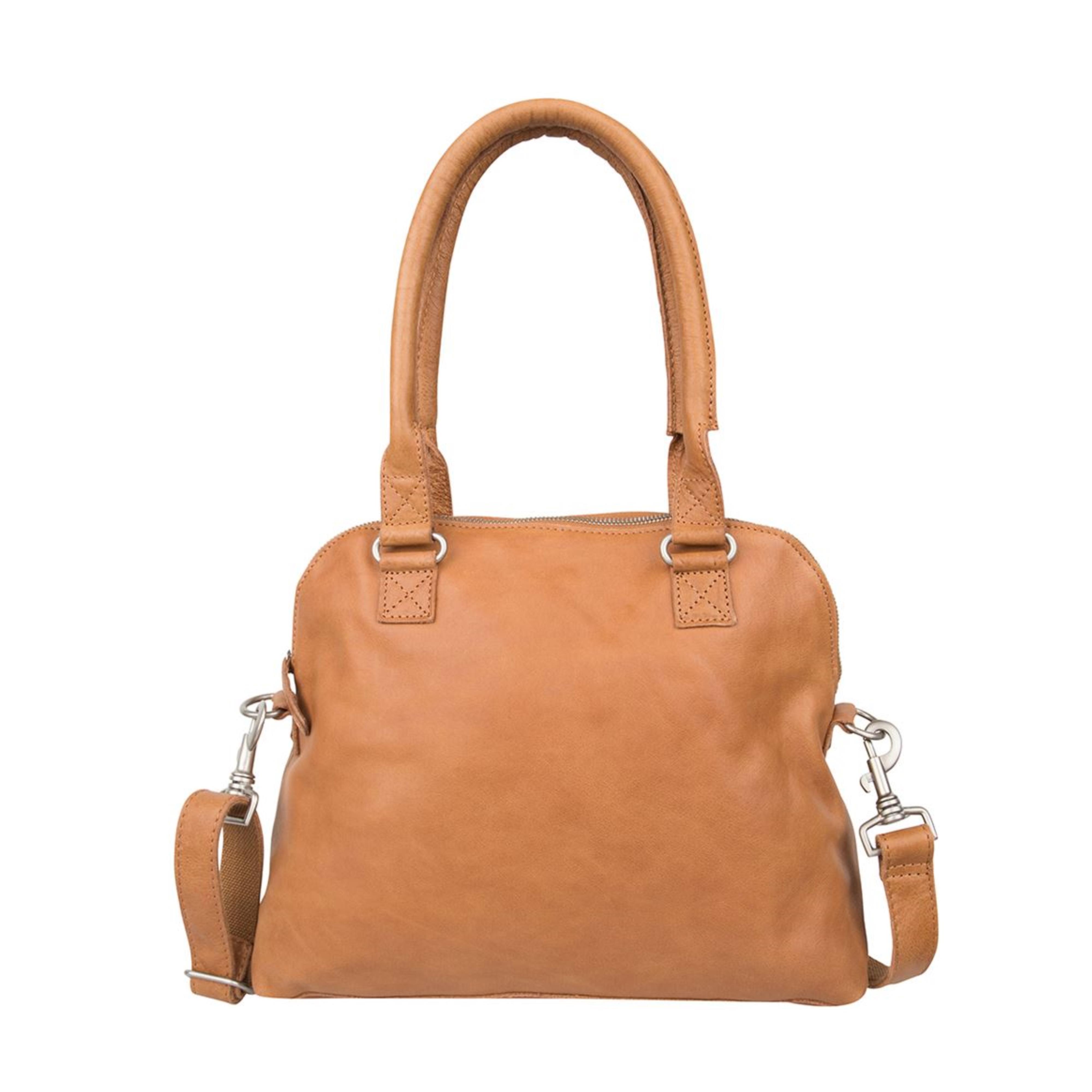 dabf72f5dae18 COWBOYSBAG Tasche Henkeltasche BAG CARFIN Tobacco 1645 Marke Cowboysbag