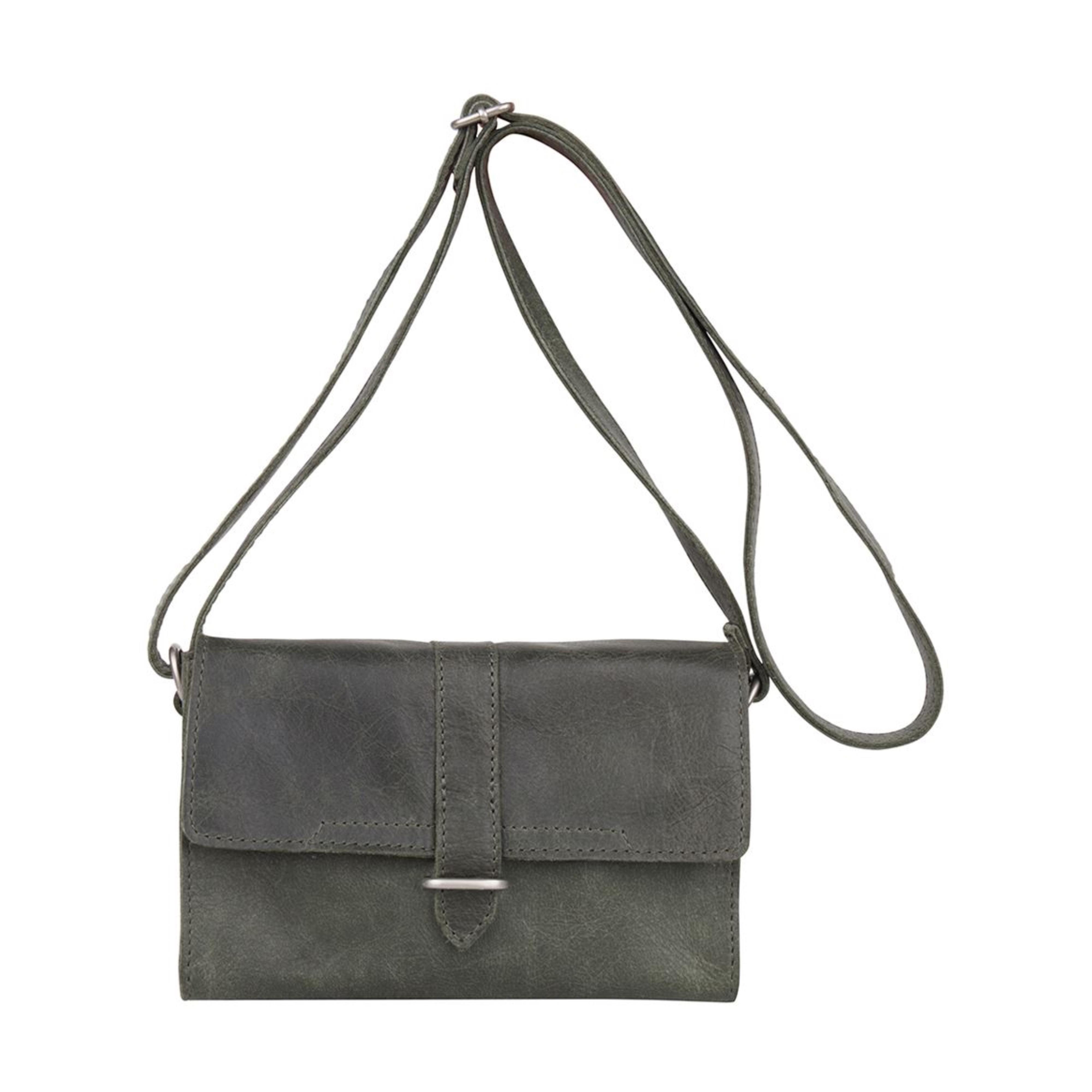 9f0c6d379ec62 COWBOYSBAG Damen Tasche Umhängetasche Bag Bayard Darkgreen 2052 001 ...