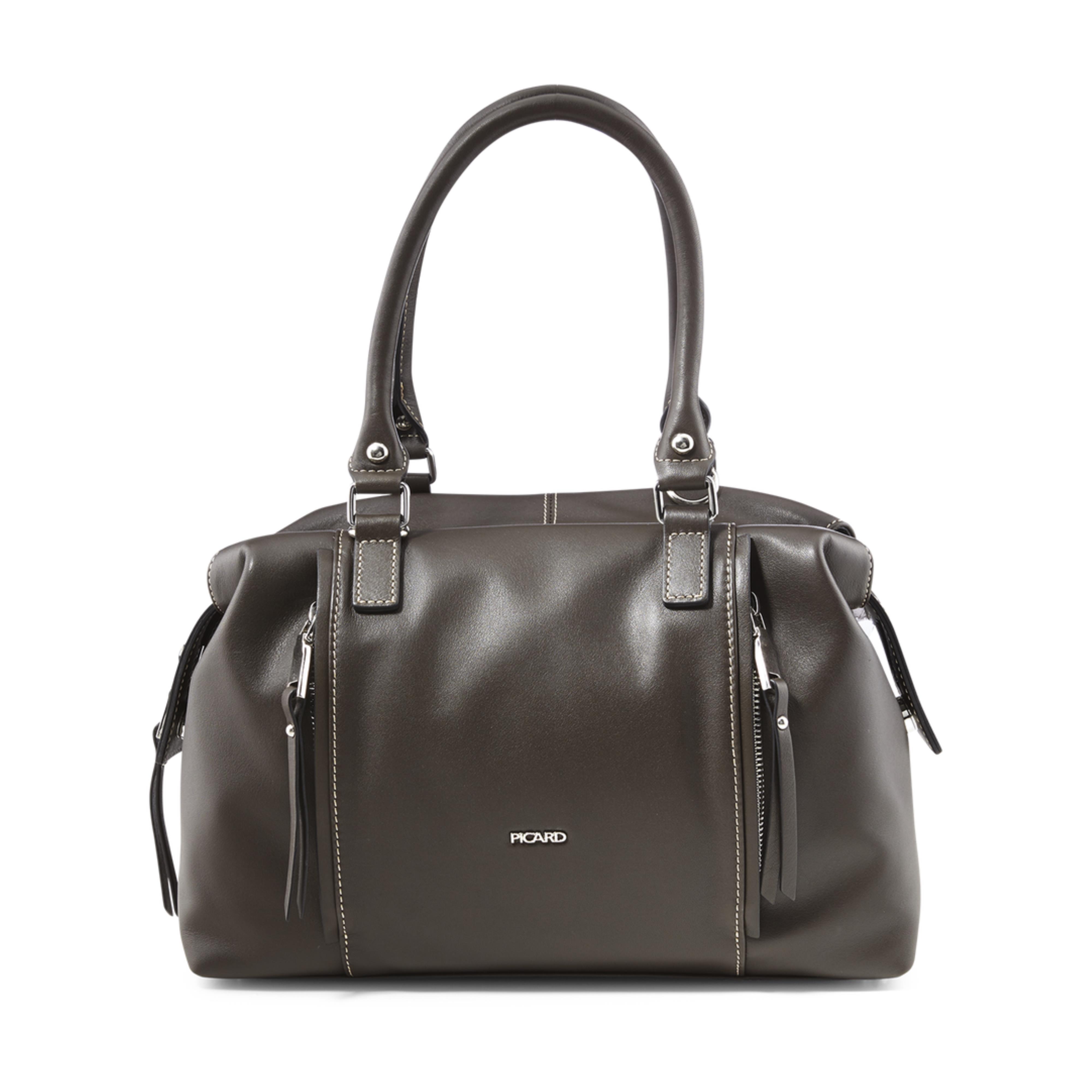 67340a021f8cf PICARD Damen Tasche Shopper Dashing Taupe 9307 Marke Picard