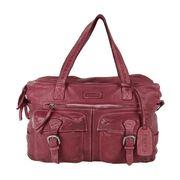 BOGYS Tasche Handtasche mit Reißverschluss New Jersey rot 11775