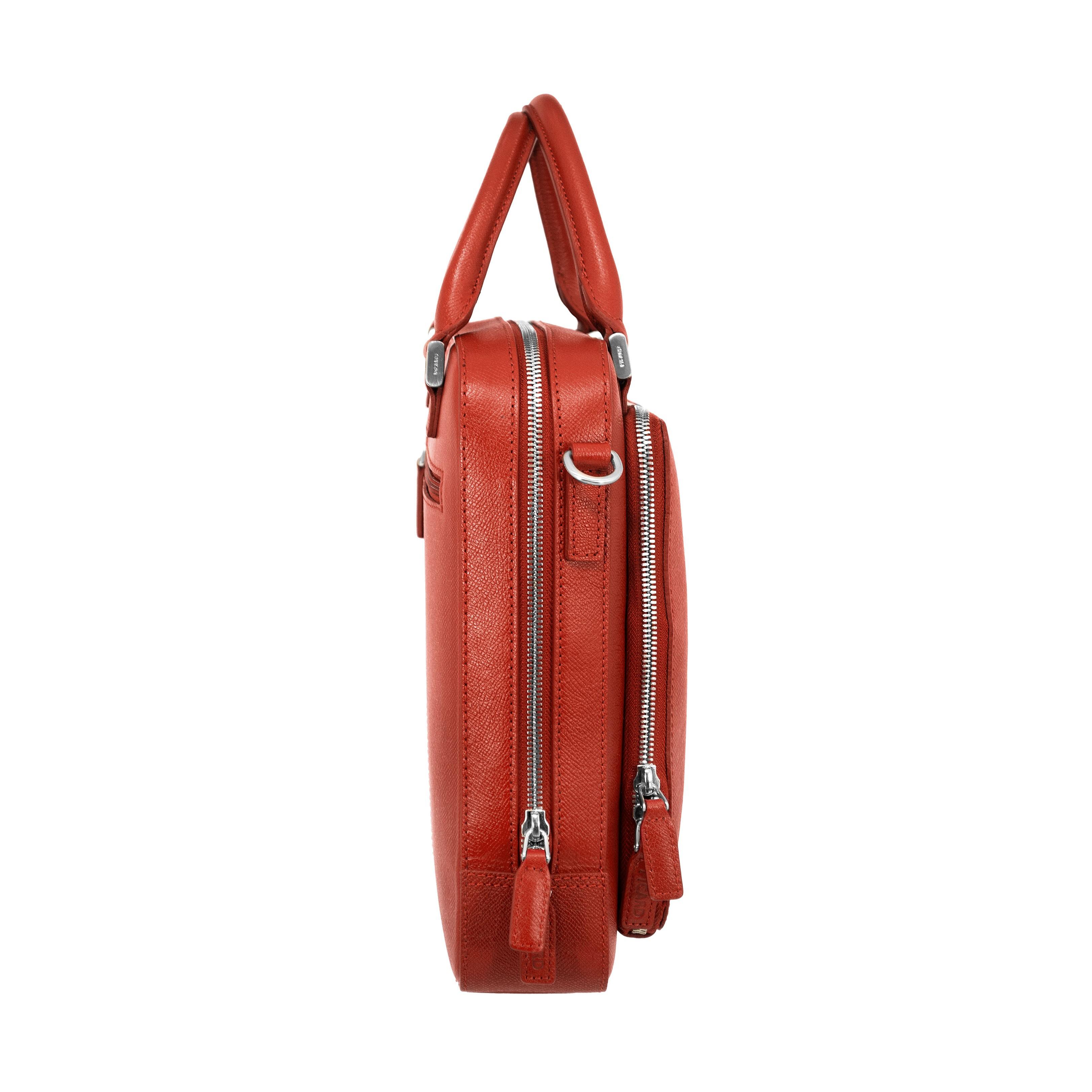 0f4b7a158bccb ... PICARD Business Damen Tasche Leder Aktentasche Laptoptasche Soho Rot  8273 002 ...