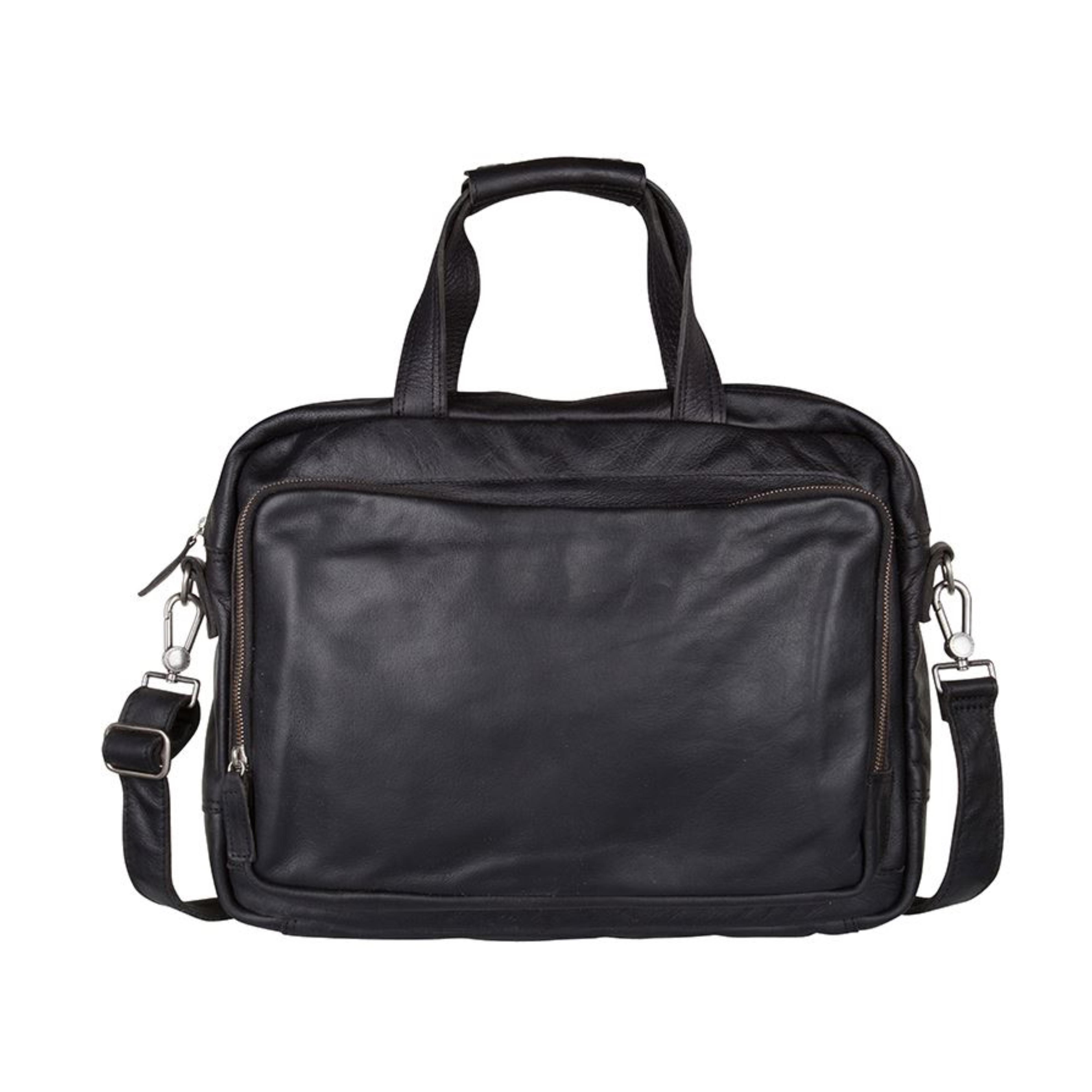 0a60e8044a187 COWBOYSBAG Tasche Laptoptasche Aktentasche LAPTOP BAG BUDE 15.6 INCH Black  1524 001 ...