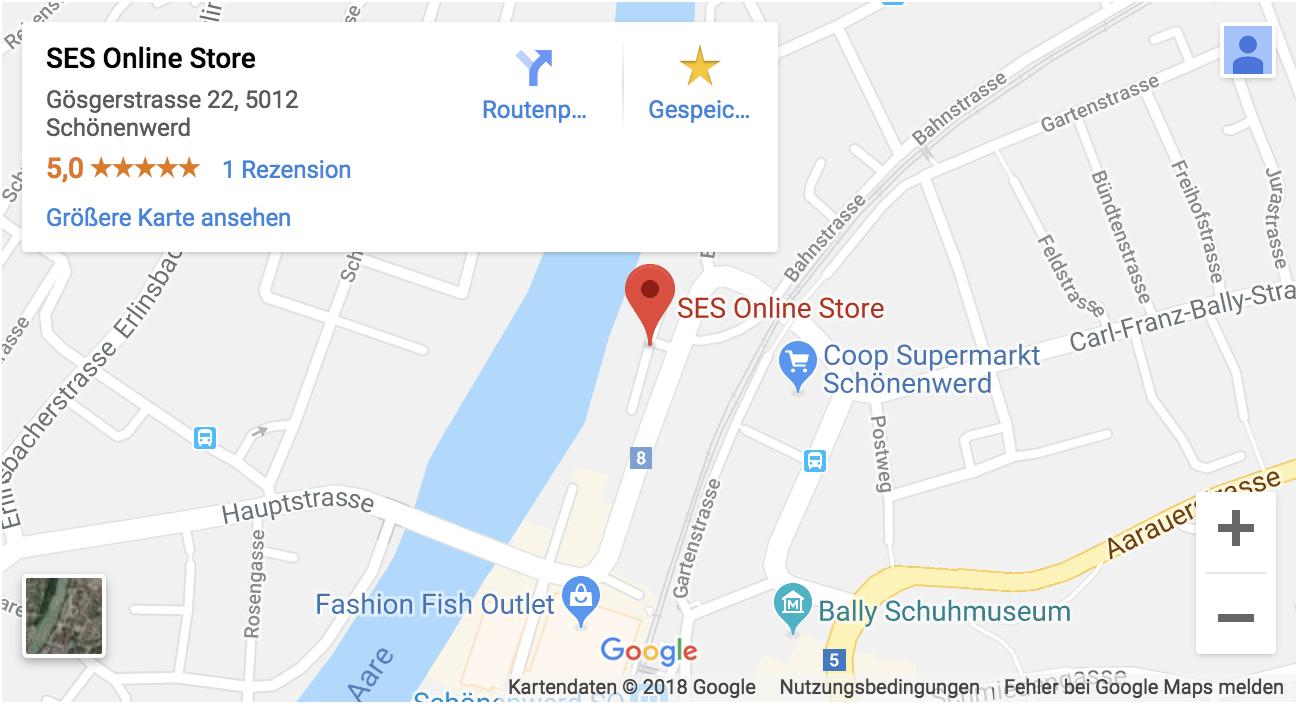 Standort SES Abholcenter