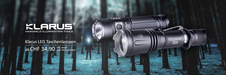 Klarus LED Taschenlampen