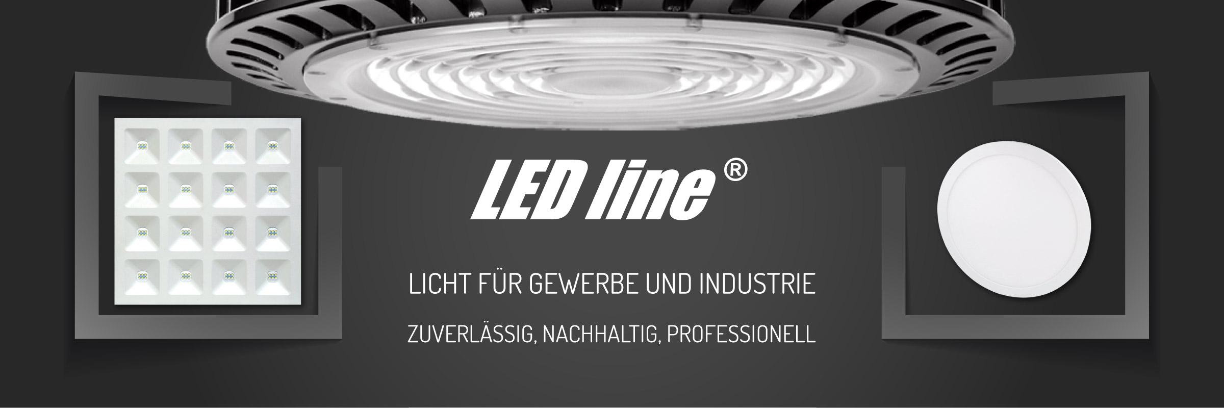 Ledline LED Beleuchtung für Gewerbe unnd Industrie
