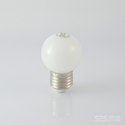 LED Ball Lamp G45 E27 1W Warmweiss 12lm