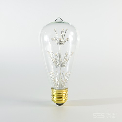 LED Birne Pearl E27 ST64 2W Warmweiss 2200K 280lm 300°