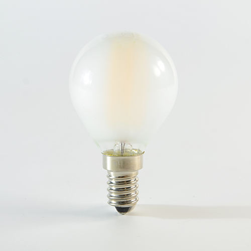 LED Birne Filament E14 G45 3W Satiniert Warmweiss 290lm 300°