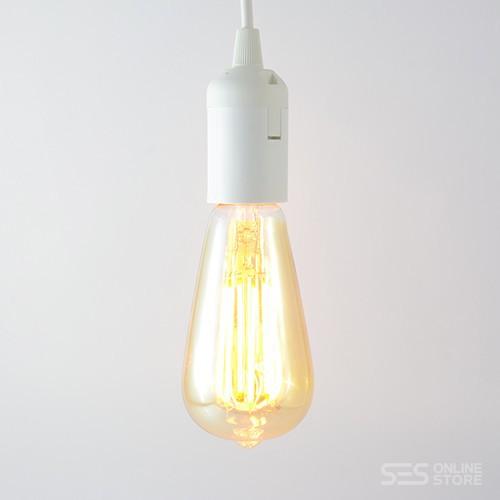 LED Birne Filament Rustikal Gold E27 4W dimmbar Warmweiss 2100K 320lm 300°
