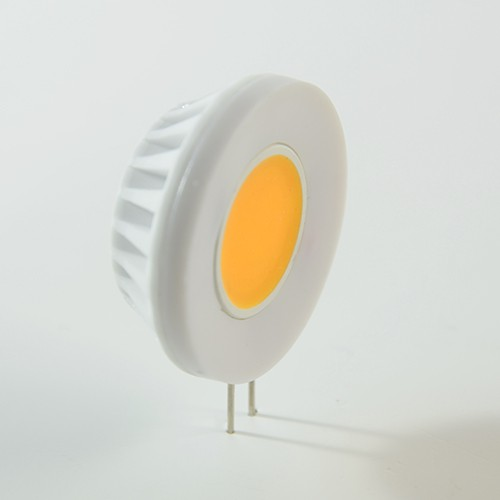 LED Pin COB G4 12V 4W Warmweiss 300lm 180° – Bild 1