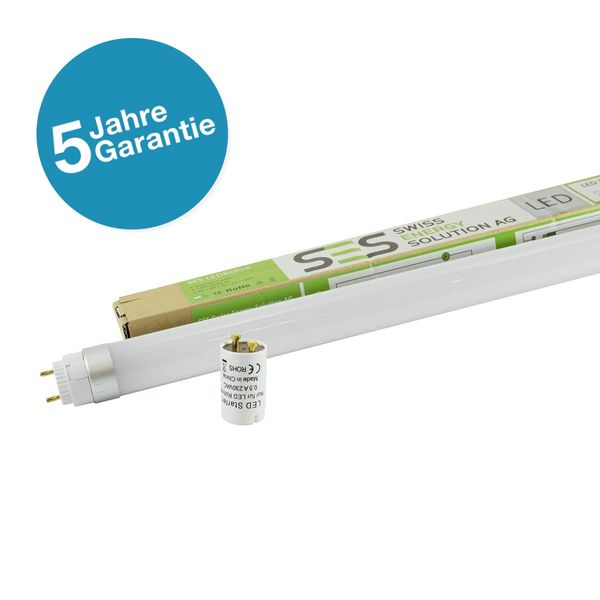 LED T8 EcoPro G13 1200mm 20W Kaltweiss 2'400lm 120° satiniert