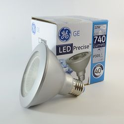 GE Precise LED Strahler E27 PAR30 12W dimmbar Warmweiss 3000K 740lm 35°