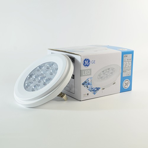 LED Downlight AR111 GE 12W Warmweiss 3000K 730lm 35°