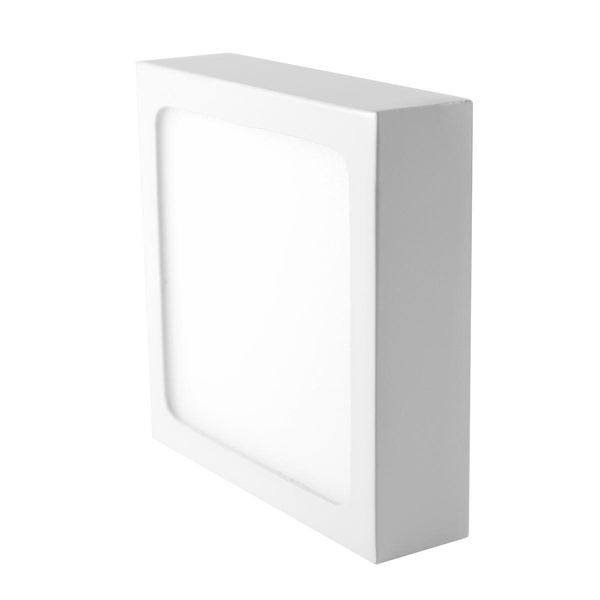 LED Aufbaupanel light 90x90mm 6W neutralweiss 420lm IP20