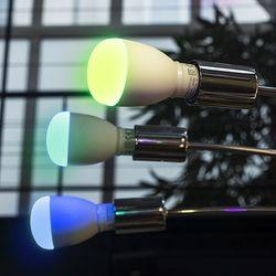 LED Birne E27 SmartLight 9W mit Farbwechsel inkl. Weiss und Bluetooth Steuerung