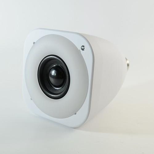 LED Lautsprecher E27 10W StriimLight Color mit Farbwechsel inkl. Weiss und Bluetooth Steuerung
