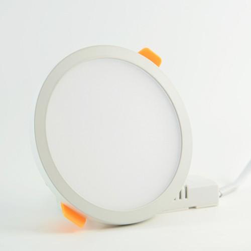 LED Panel slim Ø90mm 8W Neutralweiss 560lm 110° mit Vorschaltgerät IP20