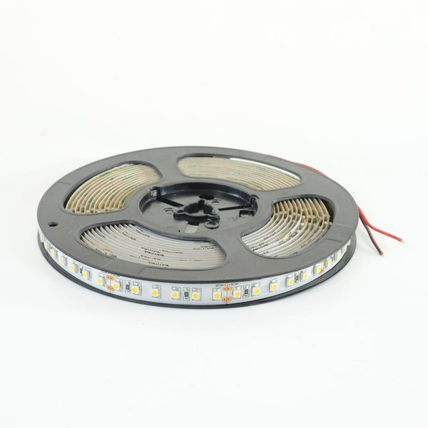 LED Streifen Band (3528) à 5m mit 600 LED 48W 24V 10mm Warmweiss 2700K 2'250lm 120° IP20