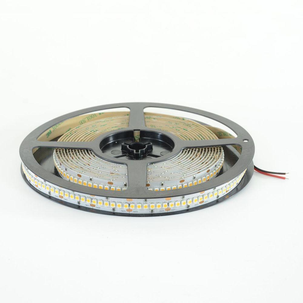 LED Streifen Band (3528) à 5m mit 1200 LED 96W 24V 12mm Warmweiss 4'750lm 120° IP20