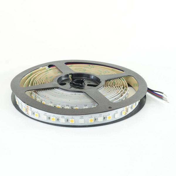 LED Streifen Band (5050) à 5m mit 480 LED 115W 24V 13.5mm RGB + Neutralweiss Ra90 8'600lm 120° IP20
