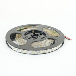 LED Streifen Band S-Form (2835) à 5m mit 300 LED 60W 12V 8mm Warmweiss 6'000lm 120° IP20