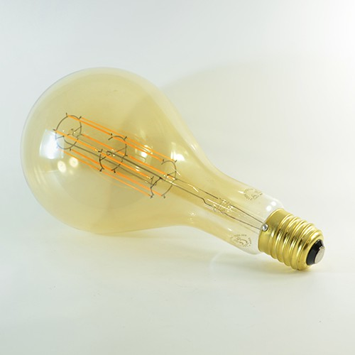 LED Birne Filament Rustikal Gold Splash E40 11W dimmbar Warmweiss 2100K 1'100lm 300°
