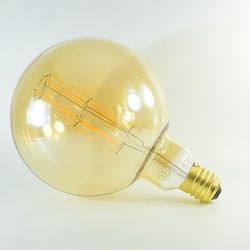 LED Birne Filament Rustikal Gold Mega Globe E40 11W dimmbar Warmweiss 2100K 1'100lm 360°