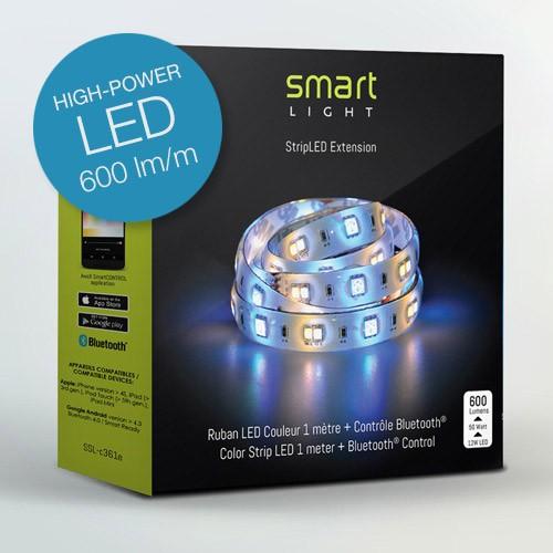 LED Streifen SmartLight Erweiterung 1M 12W 600 Lumen mit Farbwechsel und Bluetooth Steuerung