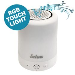 LED Speaker SELUN tragbarer Bluetooth Lautsprecher mit Touch Light