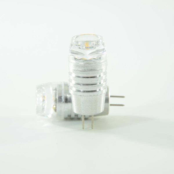 LED Pin G4 Diamond 12V 1.3W Warmweiss 130lm 200° im Doppelpack